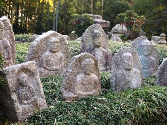 京都市洛西竹林公園の石仏群