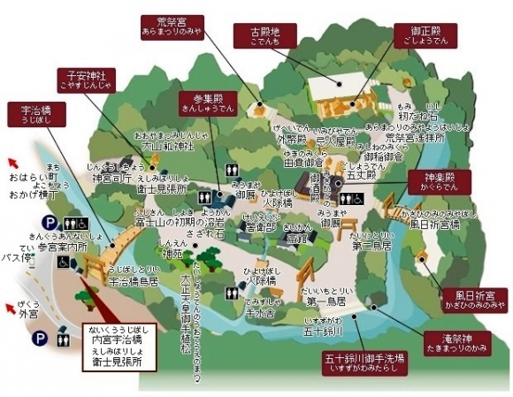 内宮 MAP