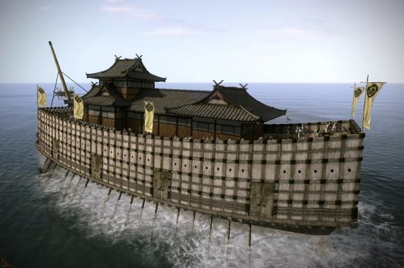 九鬼嘉隆旗艦「日本丸」鐵甲船