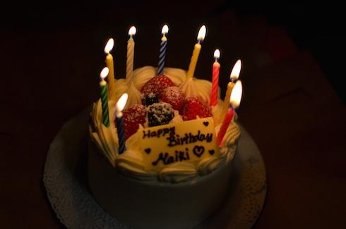 お誕生日!10歳です!