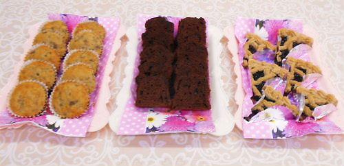 11 500 20141127 cakes:bananacake chococake つるこけもものtart