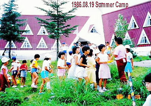 05 500 19860818 -19 SummerCamp04Orienteeringまゆみ