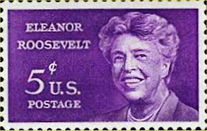 00 300 Anna Eleanor Roosevelt:stamp