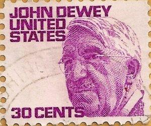 00 300 John Dewey stamp