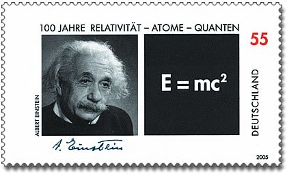 05 E=MC2 stamp