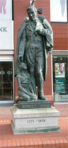 00b 250 Robert Owen Statue