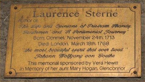 00 500 碑文:Laurence Sterne