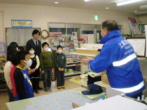 00b 500 20111208 避難訓練PA02■野口さん訓示