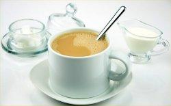 00b 250 coffee with sugar and cream