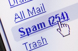 00b 250 email spam