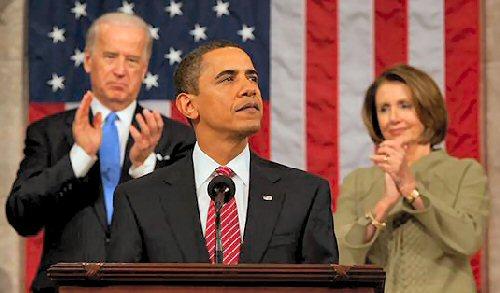 08 500 2009 Obama上下両院合同本会議