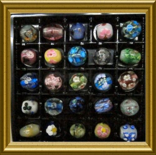 500 20150602 Newとんぼ玉25個00 framed