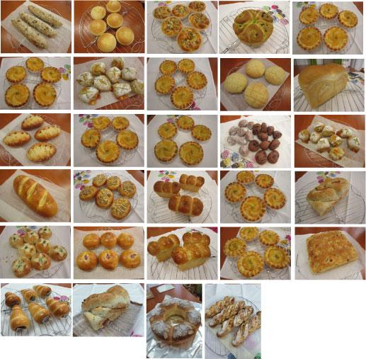 2015-6月生徒さんのパン