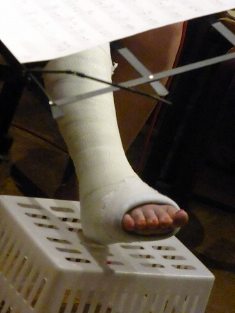 vo平野翔子さんの足