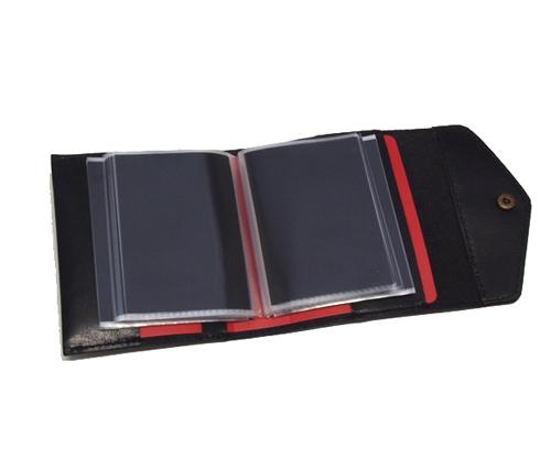 80枚収納カードケース・牛・赤002