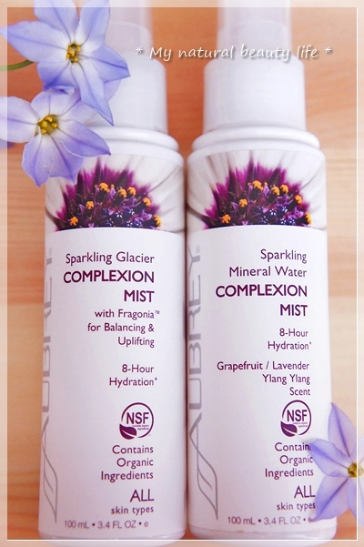 Aubrey Organics, Sparkling Mineral Water Complexion Mist, Grapefruit/Lavender Ylang Ylang Scent