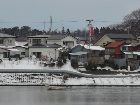 米代川河口2015512