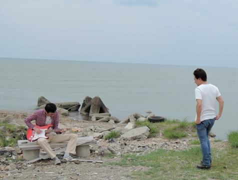 ひろしと米代川河口2