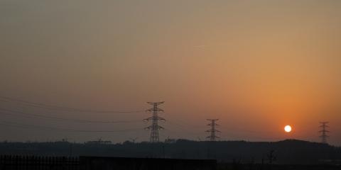 秋田の夕日2015118