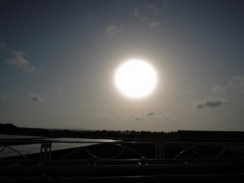 秋田の夕日2015119
