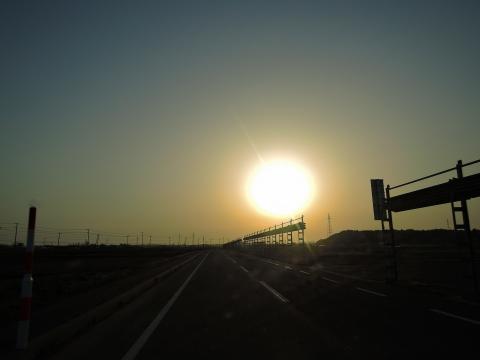 秋田の夕日2015127
