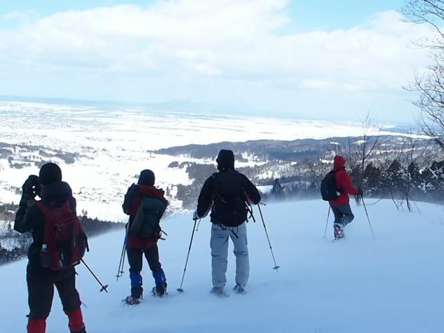 スキーのウエ