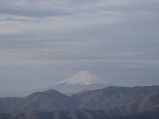 雲取山富士