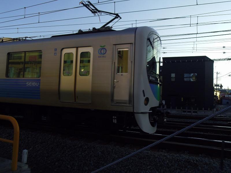 1月8日 飯能駅 西武
