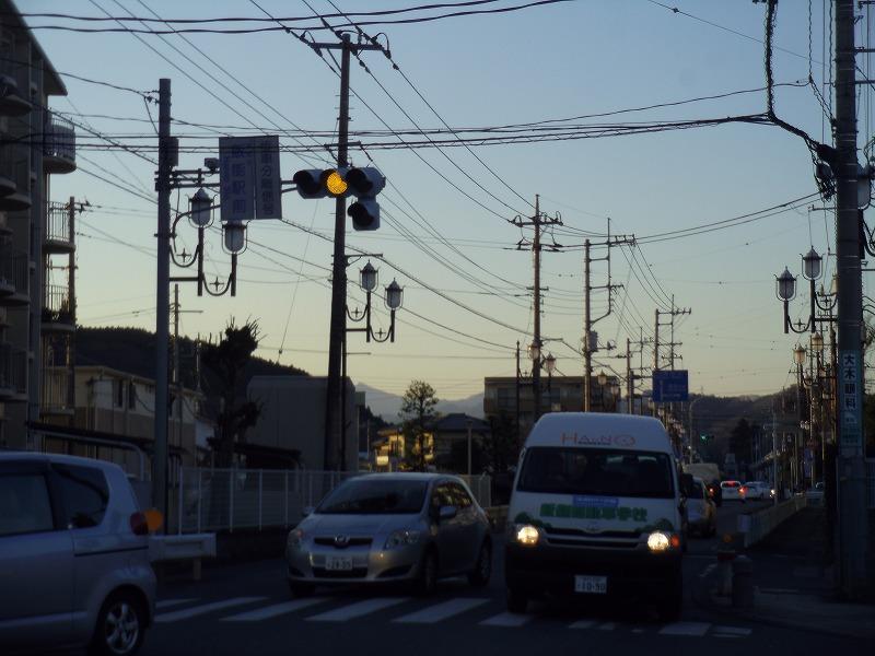 1月8日 飯能駅前