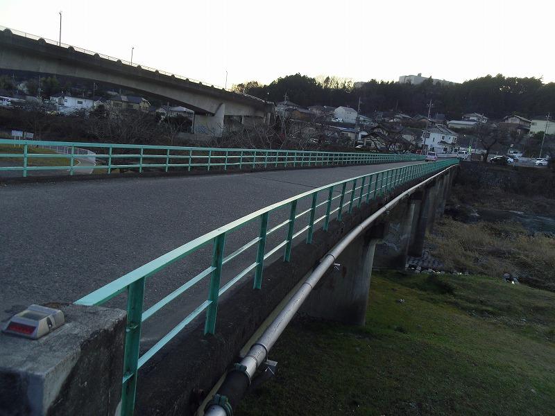 1月8日 飯能 河岸段丘 飯能大橋