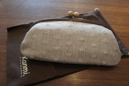 Kanmi ドットテキスタイル財布