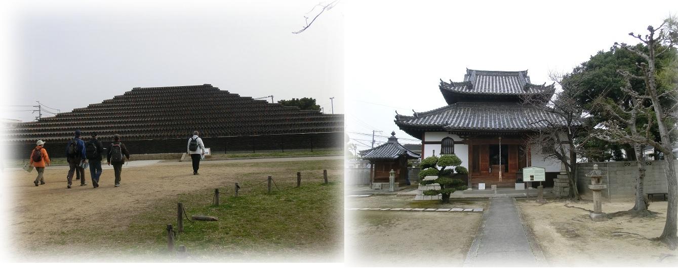 土塔と華林寺
