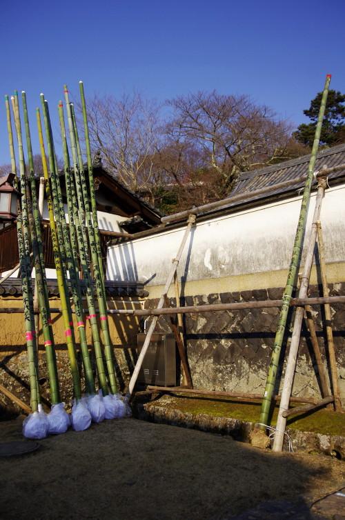 奈良公園 二月堂 竹