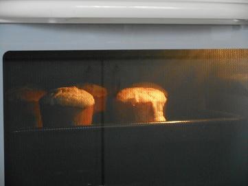 シナモンアップル・レーズンケーキ