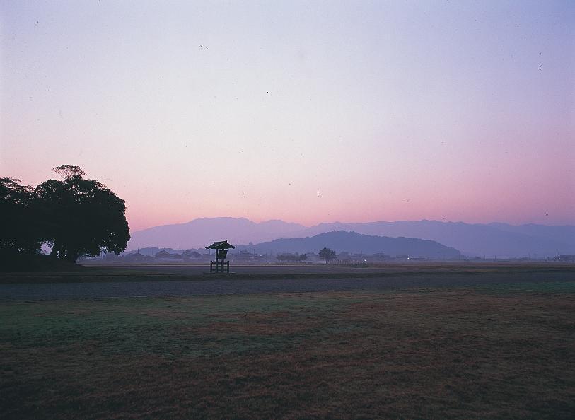 藤原京遠景