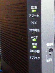 写真1 ひかり電話対応ホームゲートウェイ(NTT RT400KI)