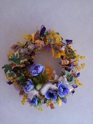 花 wreath