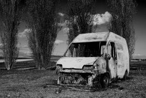 交通事故 アクシデント 火災