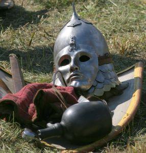 鉄仮面 マスク 防御