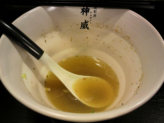 残りスープ