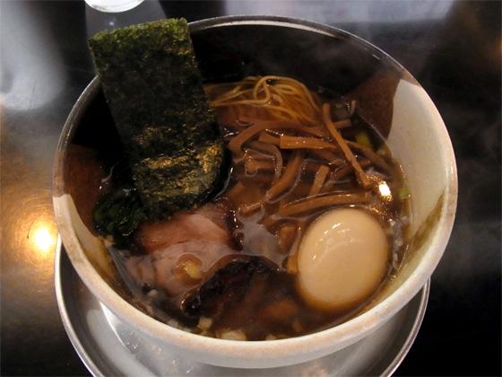 味玉醤油柳麺