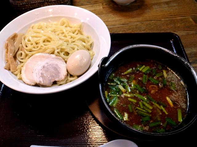 台湾つけ麺 ミンチ投入後