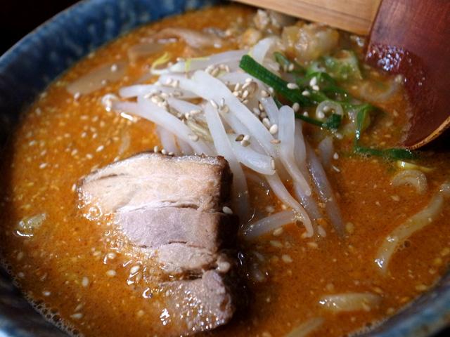 味噌坦々麺具材拡大
