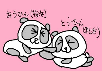 パンダ絵2