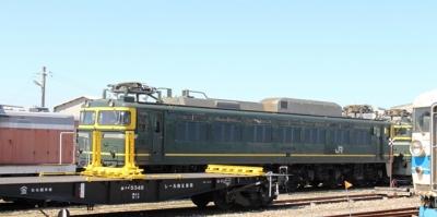 トイワイライトエクスプレス色EF81形