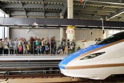 フィーバー中の金沢駅