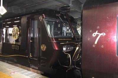ななつ星7号車側機関車DF200連結