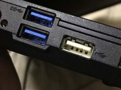 USB修理完了
