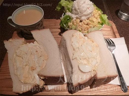 銀座アメリカンのタマゴサンドイッチセット039