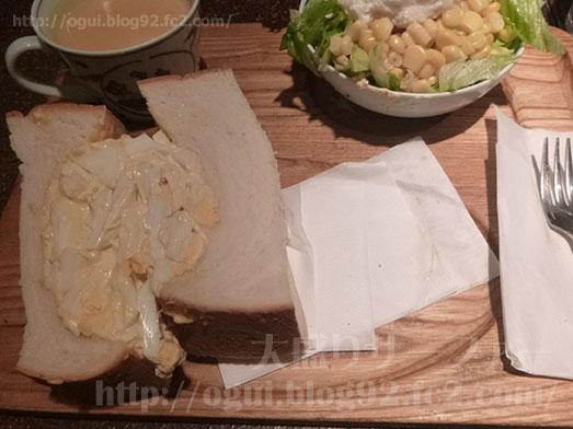 銀座アメリカンのタマゴサンドイッチセット046